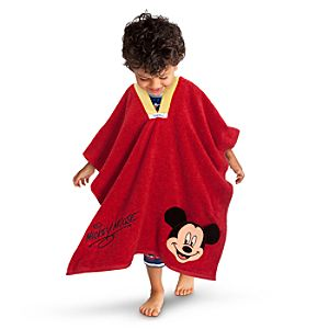 Mickey Mouse ShowNo Cover Up Towel for Boys