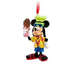 Disney Parks Fan Mickey Mouse Ornament
