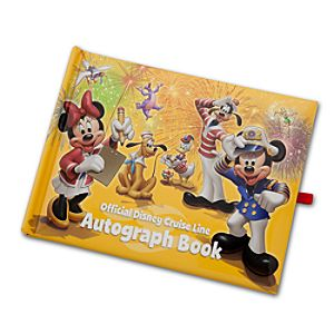 Official Disney Cruise Line Autograph Book