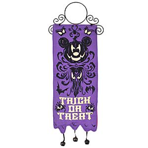 The Haunted Mansion Halloween Mickey Mouse Door Hanger