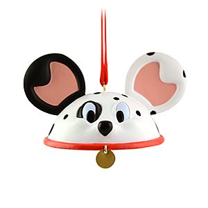 Limited Edition Ear Hat 101 Dalmatians Ornament