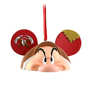 Limited Edition Ear Hat Grumpy Ornament