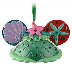 Ear Hat Ariel Ornament