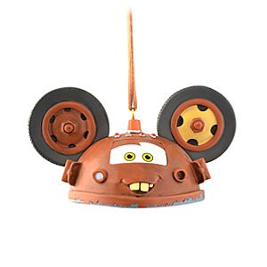 Limited Edition Ear Hat Tow Mater Ornament