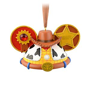 Limited Edition Ear Hat Woody Ornament