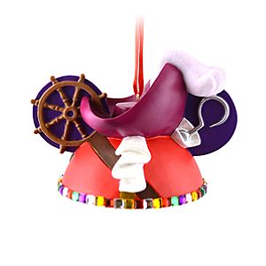 Limited Edition Captain Hook Ear Hat Ornament