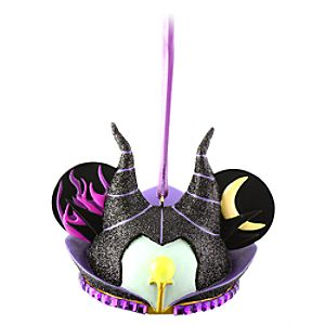 Limited Edition Maleficent Ear Hat Ornament