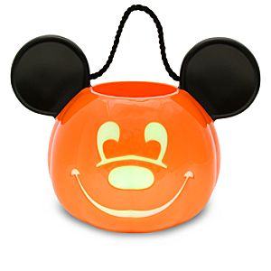 Light-Up Jack OLantern Mickey Mouse Trick or Treat Bucket