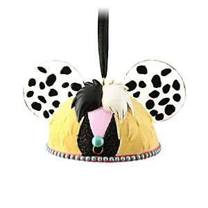 Limited Edition Cruella De Vil Ear Hat Ornament