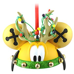 Limited Edition Reindeer Pluto Ear Hat Ornament