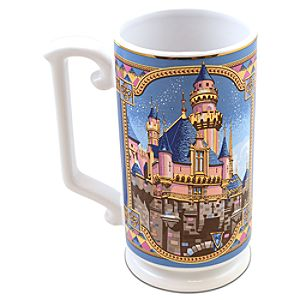 Disneyland Sleeping Beauty Castle Mug by Jeff Granito