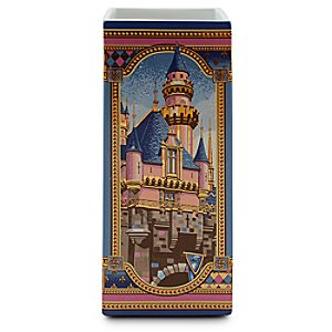 Disneyland and Walt Disney World Castles Vase by Jeff Granito