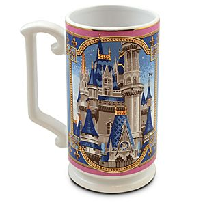 Walt Disney World Cinderella Castle Mug by Jeff Granito