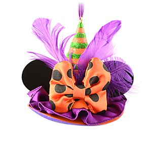 Limited Edition Witch Hat Ear Hat Ornament