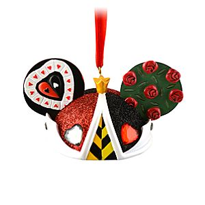 Limited Edition Queen of Hearts Ear Hat Ornament
