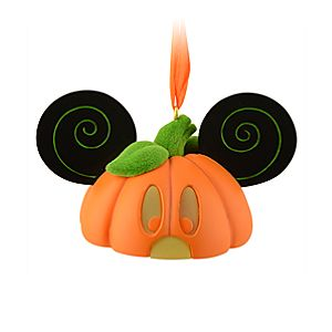 Limited Edition Ear Hat Pumpkin Mickey Mouse Ornament