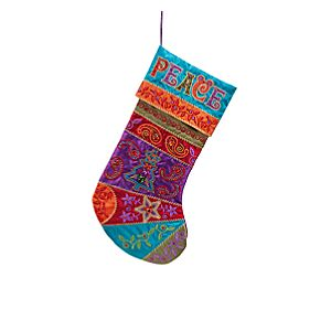 Bohemian Mickey Mouse Stocking