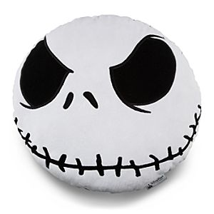 Jack Skellington Head Plush Pillow