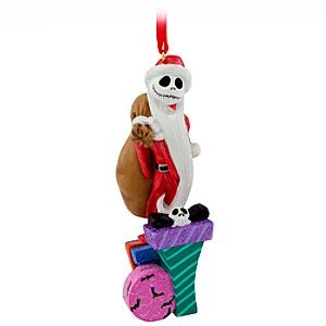 Santa Jack Skellington Ornament