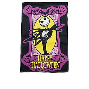 Happy Halloween Jack Skellington Yard Flag