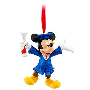 Grad Nite Mickey Mouse Ornament