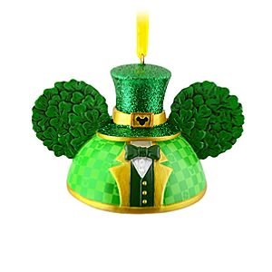 Limited Edition St. Patricks Day Ear Hat Ornament