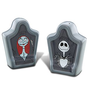 Sally and Jack Skellington Salt and Pepper Shaker Set