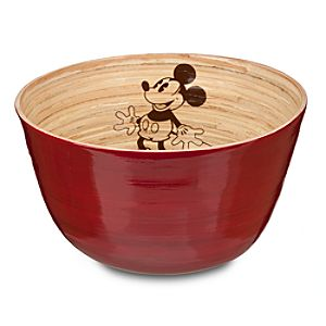 Bamboo Mickey Mouse Bowl