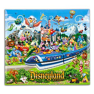 Storybook Disneyland Scrapbook Album