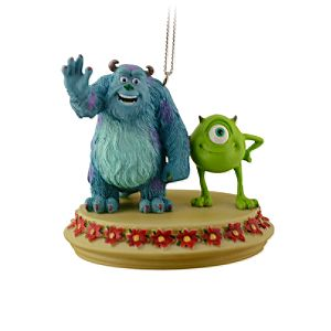 Sulley and Mike Ornament