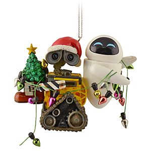 EVE and WALL•E Ornament