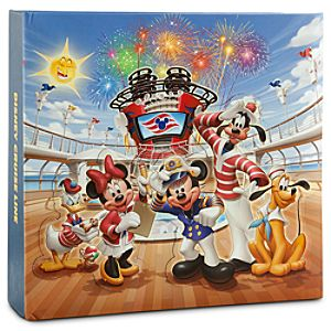 Disney Cruise Line Mickey Mouse Photo Album