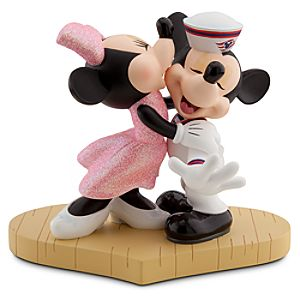 Ship Mates Minnie and Mickey Mouse Figurine