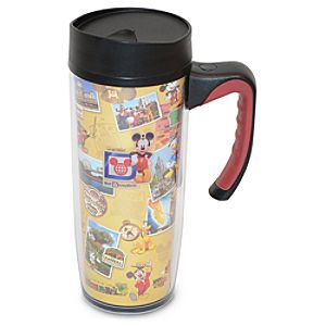 Collage Walt Disney World Travel Tumbler