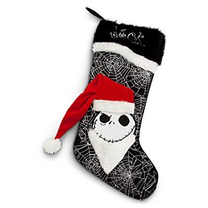Santa Jack Skellington Stocking