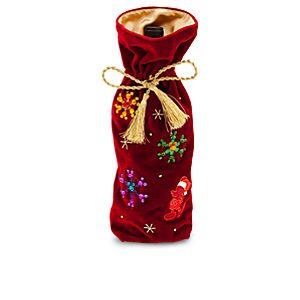 Mickey Mouse Plush Decanter Bag - Holiday