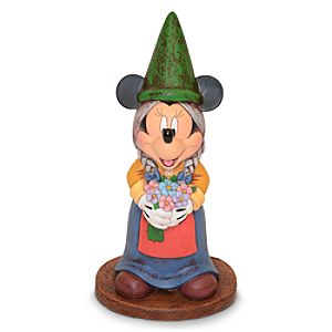Minnie Mouse Garden Gnome Figure