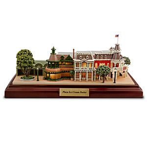 Walt Disney World Plaza Ice Cream Parlor Miniature by Olszewski