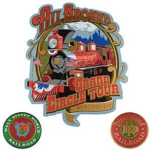 Disney Railroad Sign Set