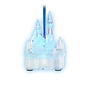 Disney Parks Castle Ornament