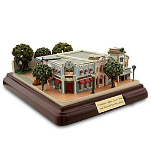 Disneyland Crystal Arts, China Closet, Main Street Photo and East Plaza Street Miniature by Olszewski