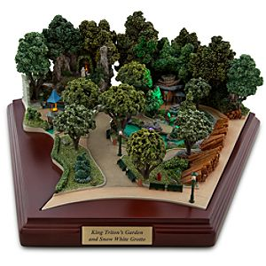 Disneyland King Tritons Garden and Snow White Grotto Miniature by Olszewski
