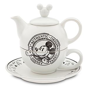 Mickey Mouse Tea-for-One Set