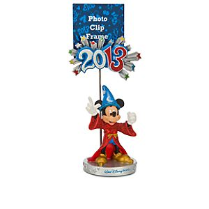 Sorcerer Mickey Mouse Photo Clip Frame - Walt Disney World 2013