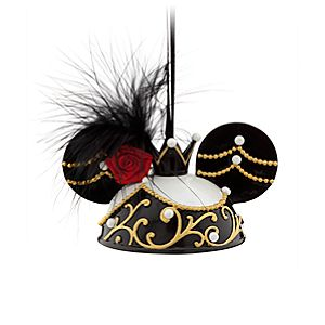 Minnie Mouse Ear Hat Ornament