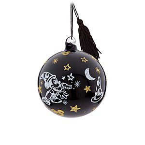 Sorcerer Mickey Mouse Glass Ball Ornament