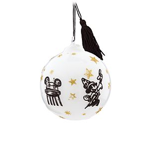 Sorcerer Mickey Mouse Glass Ball Ornament - Walt Disney World