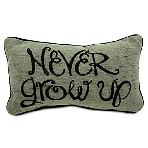 Peter Pan Pillow - Never Grow Up