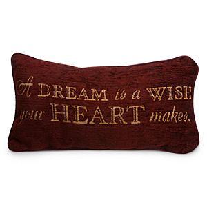 Cinderella Pillow - A Dream is a Wish Your Heart Makes