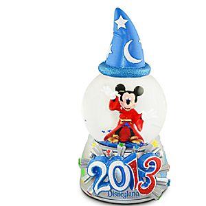 Sorcerer Mickey Mouse Mini Snowglobe - Disneyland 2013